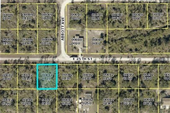 null bed null bath Vacant Land at 4226 E 25TH ST ALVA, FL, 33920 is for sale at 3k - google static map