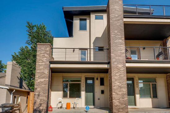 4 bed 4 bath Townhouse at 1358 PERRY ST DENVER, CO, 80204 is for sale at 775k - google static map