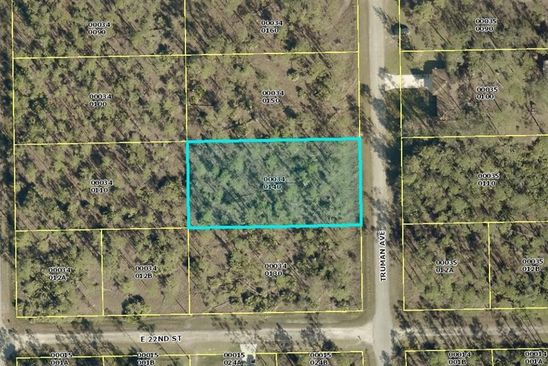 null bed null bath Vacant Land at 2203 TRUMAN AVE ALVA, FL, 33920 is for sale at 6k - google static map
