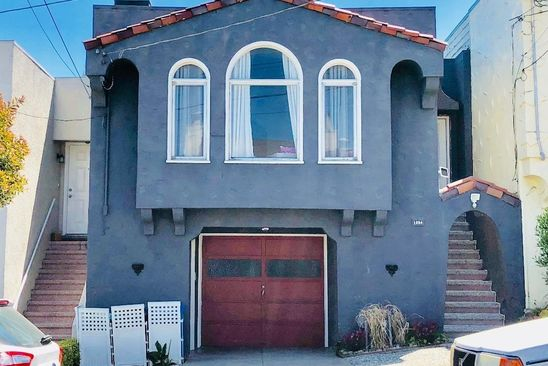3 bed 3 bath Single Family at 1654 25TH AVE SAN FRANCISCO, CA, 94122 is for sale at 1.10m - google static map