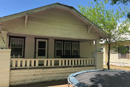 2 bed 1 bath Single Family at 1549 S Wichita St Wichita, KS, 67213 is for sale at 165k - google static map
