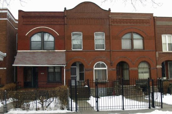 5 bed 3 bath Single Family at 4116 S Ellis Ave Chicago, IL, 60653 is for sale at 169k - google static map