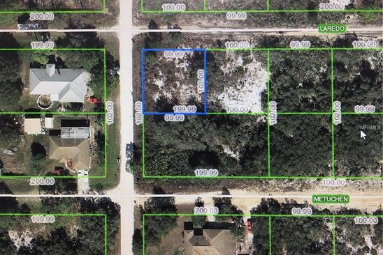 null bed null bath Vacant Land at 2835 W LAREDO RD AVON PARK, FL, 33825 is for sale at 20k - google static map