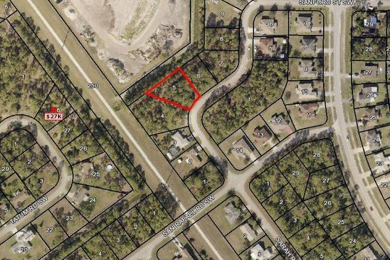 null bed null bath Vacant Land at 238 SARAH RD SW PALM BAY, FL, 32908 is for sale at 13k - google static map