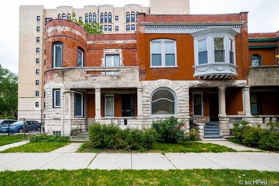 4 bed 2 bath Single Family at 1327 E HYDE PARK BLVD CHICAGO, IL, 60615 is for sale at 290k - google static map