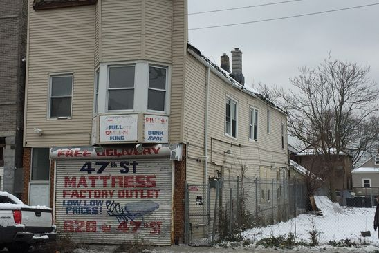 8 bed 4 bath Multi Family at 626 W 47th St Chicago, IL, 60609 is for sale at 120k - google static map