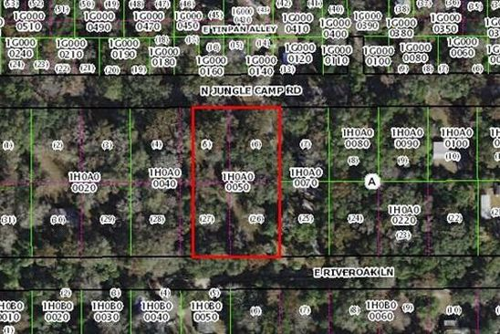 null bed null bath Vacant Land at 2456 N JUNGLECAMP RD INVERNESS, FL, 34453 is for sale at 18k - google static map