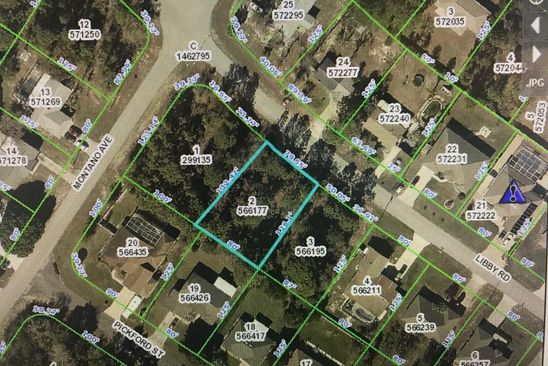 null bed null bath Vacant Land at  LIBBY RD SPRING HILL, FL, 34609 is for sale at 15k - google static map
