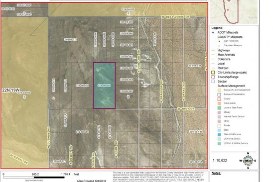 null bed null bath Vacant Land at  Tbd Troy Dr Golden Valley, AZ, 86413 is for sale at 7k - google static map