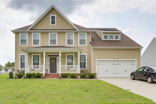 5 bed 3 bath Single Family at 3018 INDIAN POINT RD SUFFOLK, VA, 23434 is for sale at 370k - google static map