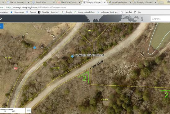 null bed null bath Vacant Land at 310 Cemetery Rd Cape Fair, MO, 65624 is for sale at 20k - google static map