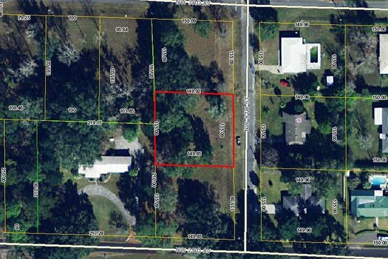 null bed null bath Vacant Land at 0 NW 8 Th St Williston, FL, 32696 is for sale at 25k - google static map