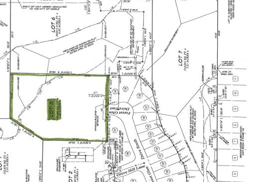 null bed null bath Vacant Land at 0 Forest Glen Dr E Mobile, AL, 36618 is for sale at 30k - google static map
