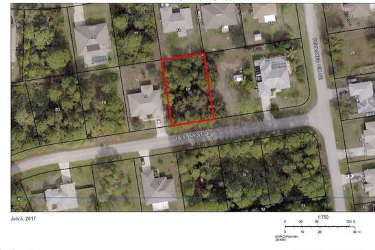 null bed null bath Vacant Land at 1281 DESTINY ST SE PALM BAY, FL, 32909 is for sale at 16k - google static map