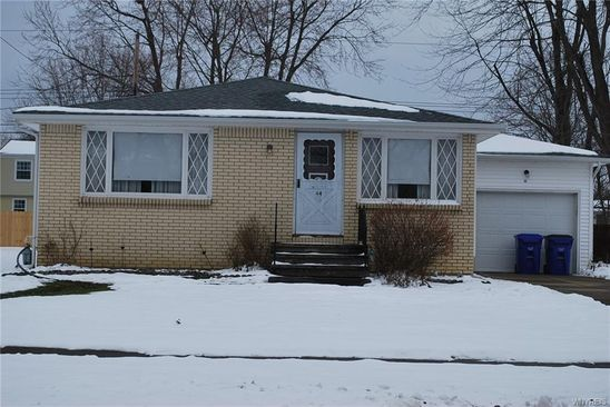 3 bed 1 bath Single Family at 44 Carriage Park West Seneca, NY, 14224 is for sale at 140k - google static map