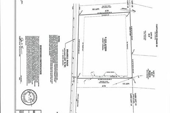 null bed null bath Vacant Land at 9845 Brazell Rd Palmetto, GA, 30268 is for sale at 98k - google static map