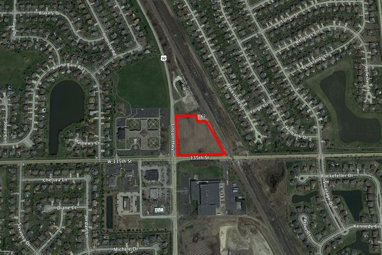 null bed null bath Vacant Land at 1 Route 30 & 135th St Plainfield, IL, 60544 is for sale at 1.20m - google static map