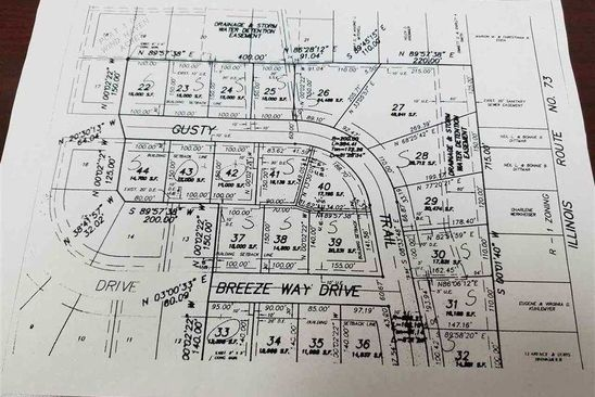 0 bed null bath Vacant Land at 528 Breezeway Dr Pearl City, IL, 61062 is for sale at 9k - google static map