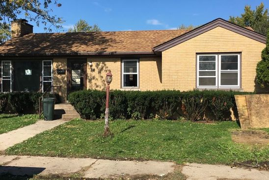 3 bed 2 bath Single Family at 11 MCKINLEY AVE STEGER, IL, 60475 is for sale at 85k - google static map