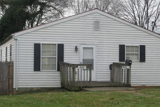 2 bed 1 bath Multi Family at 810 Staunton Ave NW Roanoke, VA, 24016 is for sale at 118k - google static map