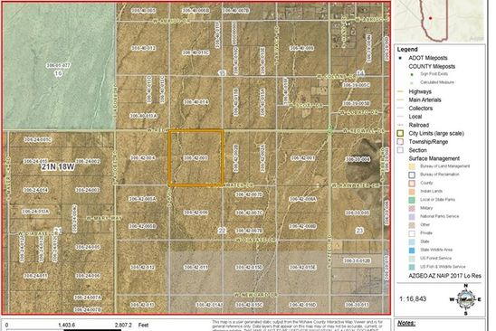 null bed null bath Vacant Land at  Tbd Redwall Golden Valley, AZ, 86413 is for sale at 40k - google static map