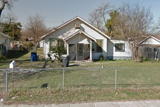 3 bed 1 bath Single Family at 2605 ALABAMA AVE DALLAS, TX, 75216 is for sale at 11k - google static map