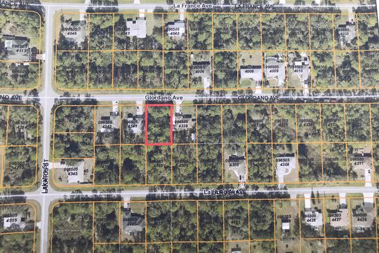 null bed null bath Vacant Land at  GLORDANO AVE NORTH PORT, FL, 34286 is for sale at 7k - google static map