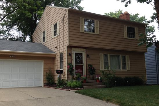 3 bed 2 bath Single Family at 724 CASTLE BLVD AKRON, OH, 44313 is for sale at 155k - google static map