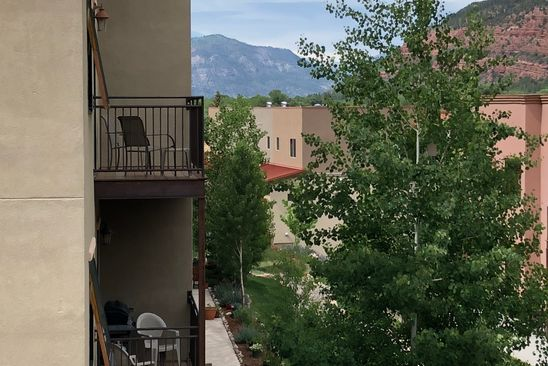 3 bed 4 bath Townhouse at 1422 Animas View Dr Durango, CO, 81301 is for sale at 389k - google static map