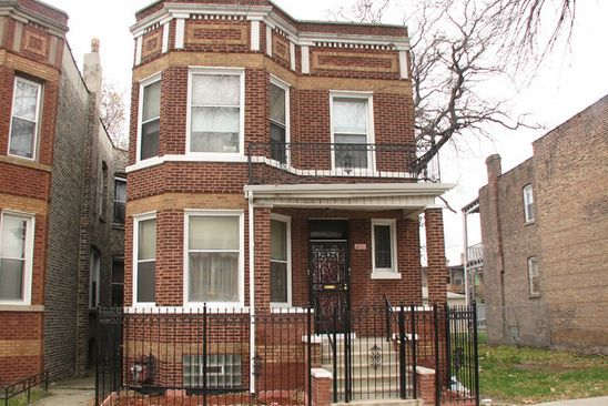 4 bed 2 bath Multi Family at 3323 W Van Buren St Chicago, IL, 60624 is for sale at 180k - google static map