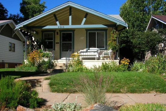 3 bed 2 bath Single Family at 4345 Quitman St Denver, CO, 80212 is for sale at 550k - google static map