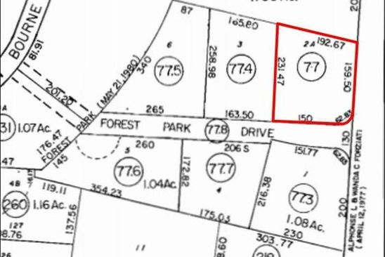 0 bed null bath Vacant Land at 568 Macarthur Blvd Bourne, MA, 02532 is for sale at 550k - google static map