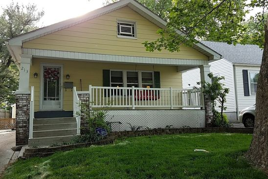 2 bed 1 bath Single Family at 213 N ILLINOIS ST SPRINGFIELD, IL, 62702 is for sale at 110k - google static map