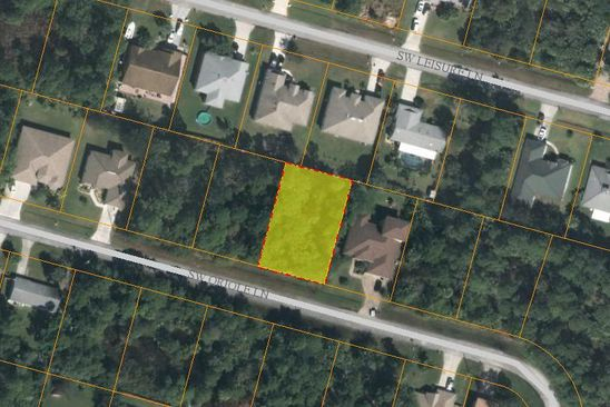 null bed null bath Vacant Land at 1433 SW Oriole Ln Port Saint Lucie, FL, 34953 is for sale at 34k - google static map