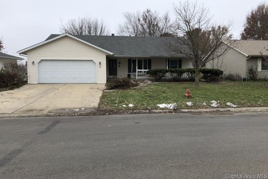 3 bed 2 bath Single Family at 403 E MADISON ST AUBURN, IL, 62615 is for sale at 130k - google static map