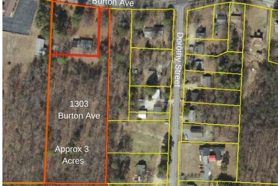 null bed null bath Vacant Land at 1303 BURTON AVE HIGH POINT, NC, 27262 is for sale at 30k - google static map
