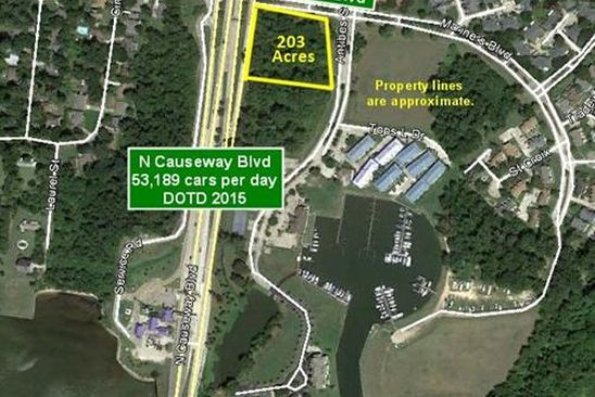 null bed null bath Vacant Land at N Causeway Blvd Mandeville, LA, 70471 is for sale at 800k - google static map