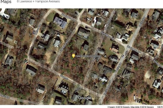 null bed null bath Vacant Land at  LAWRENCE AVE OAK BLUFFS, MA, 02557 is for sale at 335k - google static map