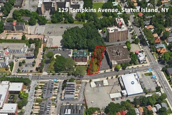 null bed null bath Vacant Land at 129 Tompkins Ave Staten Island, NY, 10304 is for sale at 999k - google static map