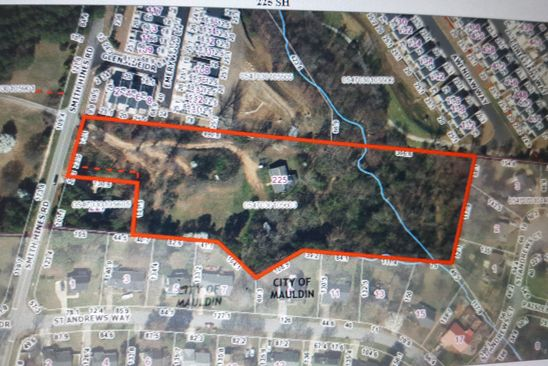 3 bed null bath Vacant Land at 225 SMITH HINES RD GREENVILLE, SC, 29607 is for sale at 450k - google static map