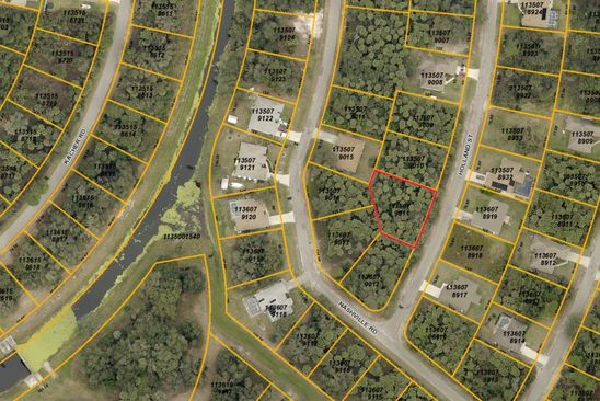 null bed null bath Vacant Land at  HOLLAND ST NORTH PORT, FL, 34288 is for sale at 7k - google static map