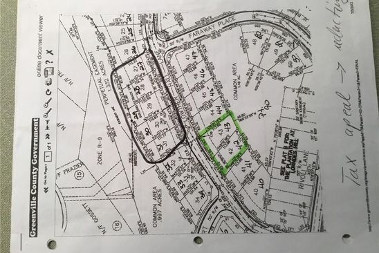0 bed null bath Vacant Land at 43 Lowther Hall Ln Greenville, SC, 29615 is for sale at 75k - google static map