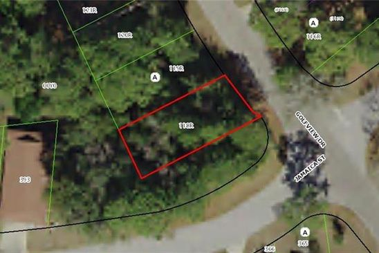 null bed null bath Vacant Land at 32 GOLFVIEW DR HOMOSASSA, FL, 34446 is for sale at 5k - google static map