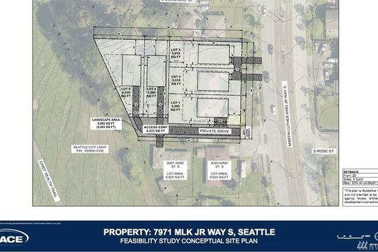 2 bed null bath Vacant Land at 7971 MARTIN LUTHER KING JR WAY S SEATTLE, WA, 98118 is for sale at 899k - google static map