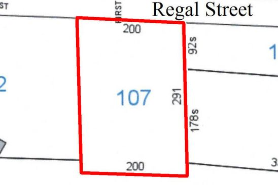 null bed null bath Vacant Land at  Regal St Winfield, AL, 35594 is for sale at 17k - google static map