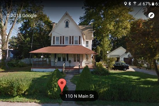 3 bed 2 bath Single Family at 110 N MAIN ST WILLIAMSTOWN, NJ, 08094 is for sale at 159k - google static map