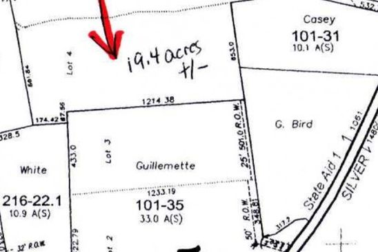 null bed null bath Vacant Land at  Silver St Monkton, VT, 05469 is for sale at 109k - google static map