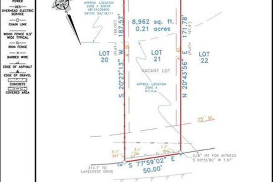 null bed null bath Vacant Land at 7613 W Shore Dr The Colony, TX, 75056 is for sale at 75k - google static map