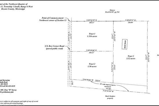 null bed null bath Vacant Land at 1020 Box Corner Rd Byhalia, MS, 38611 is for sale at 58k - google static map