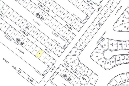 0 bed null bath Vacant Land at 7 W THAMES RD LITTLE EGG HARBOR TWP, NJ, 08087 is for sale at 77k - google static map